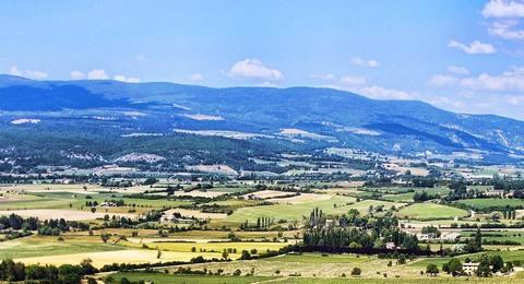 Frankreich Landschaft in der Provence