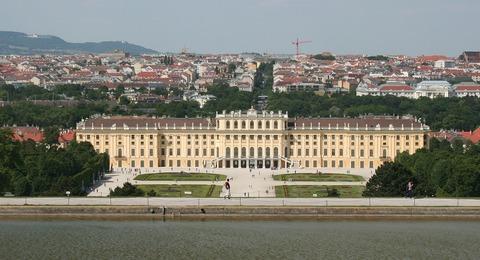 Österreich Wien Schloss