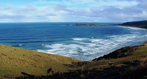 Neuseelands Küste