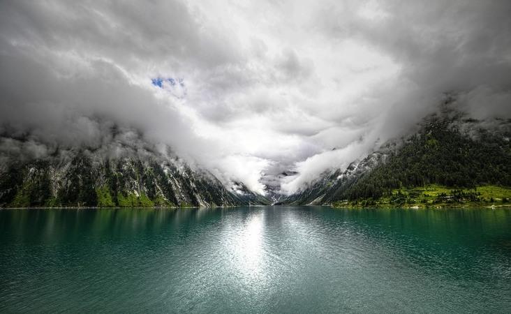 Schlegeisspeicher in Österreich